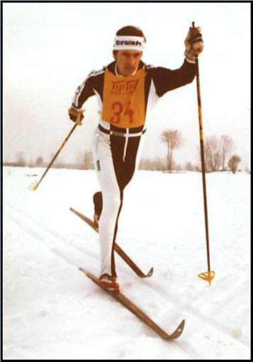 Edgar Eckert in Aktion in den 70ern