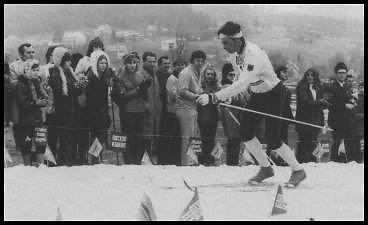Edgar Eckert bei der Deutschen 50-km-Meisterschaft 1972 in Neubau